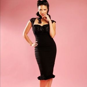 PinupCouture leopard Micheline Dress
